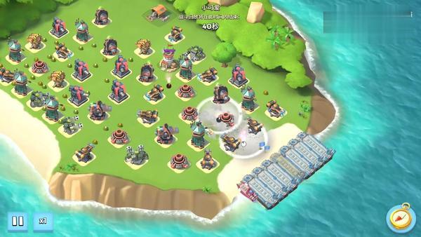 海島奇兵一個資源島從48級搶到60級