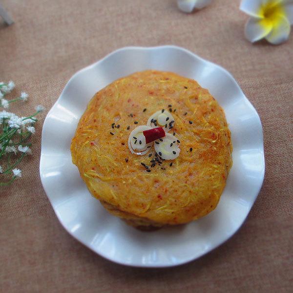 炒南瓜丝饼的做法