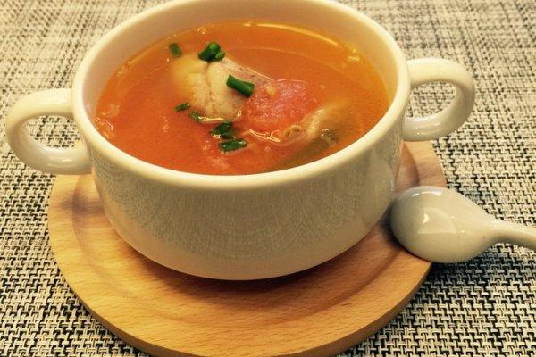 番茄骨头汤的做法