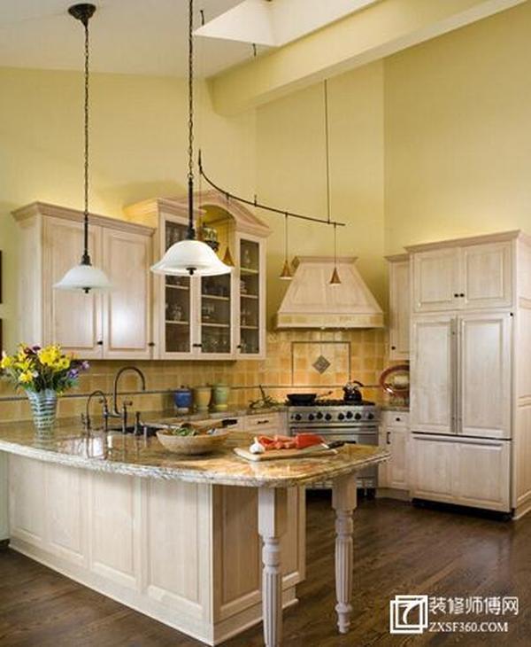 六大田园风厨房美食研发地设计 总有一款适合你
