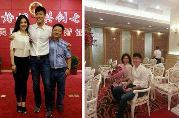刘翔葛天结婚照分享 刘翔葛天更多亲密照曝光