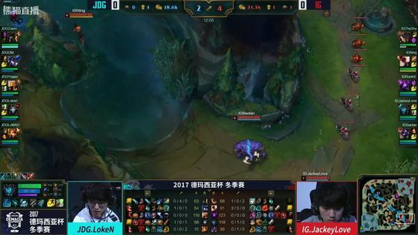 lol德玛西亚杯北京站IGvsVG怎么没有直播视频