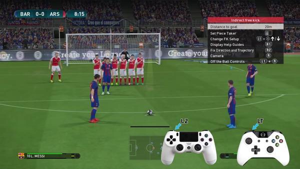 实况足球2014 所有新技能的视频教程