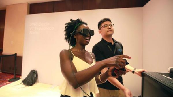 携带便捷、分辨率超越HTCVive!国产VR眼镜Dlodlo V1曝光