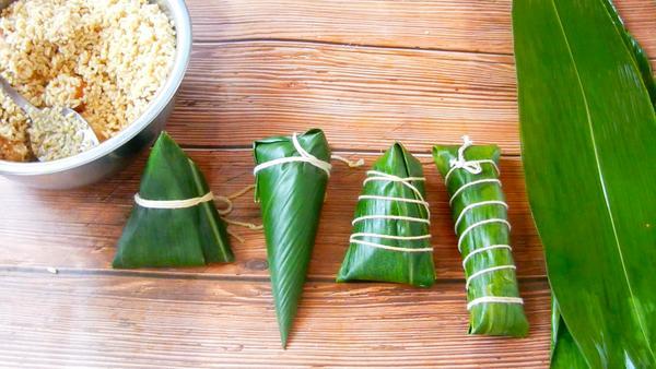 过端午节粽子怎么包,粽子叶除了包粽子还能做什么