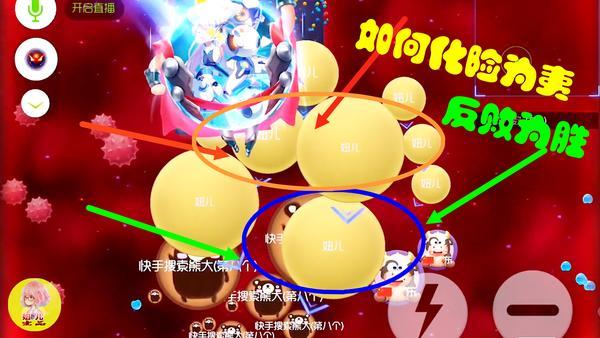 球球大作战苍蝇怎么使用 球球大作战使用苍蝇反败为胜攻略