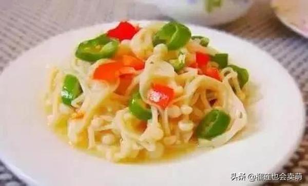 金针菇猪肝肉片汤的做法