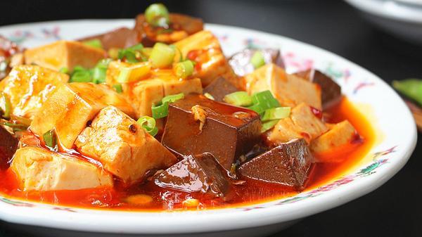 香辣芡汁豆腐的做法