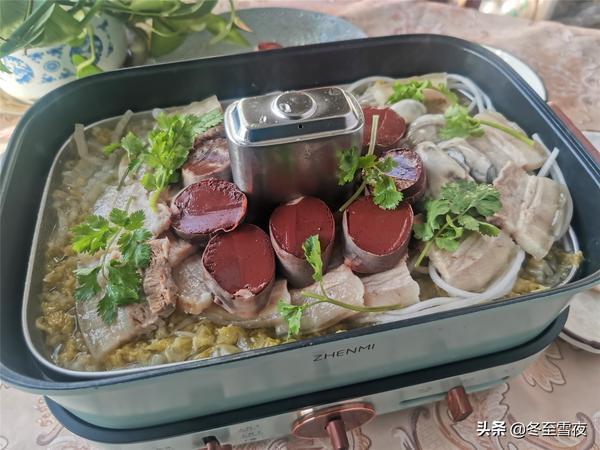 酸菜火锅的家常做法