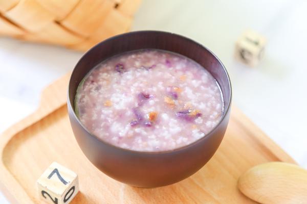 红枣紫薯粥的制作方法
