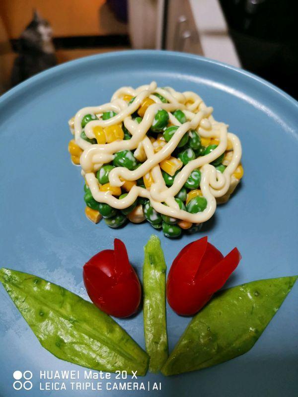 虾仁玉米青豆沙律怎么做呢