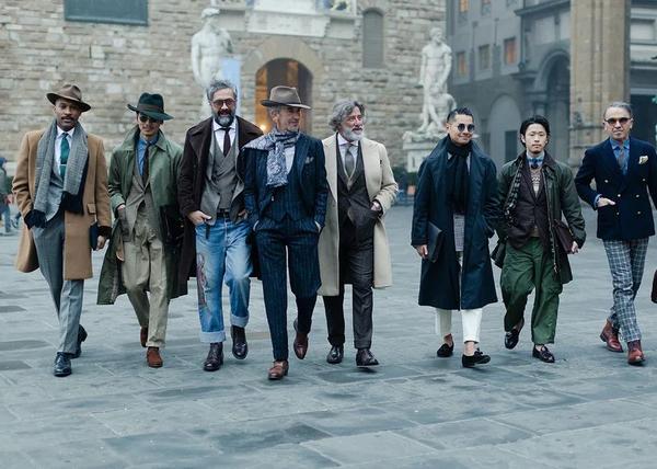 几位最会穿衣服的男人 各位学习一下