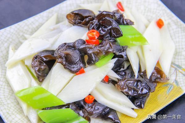 木耳菜炒山药的做法