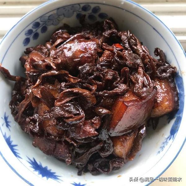 萝卜干烧肉的做法