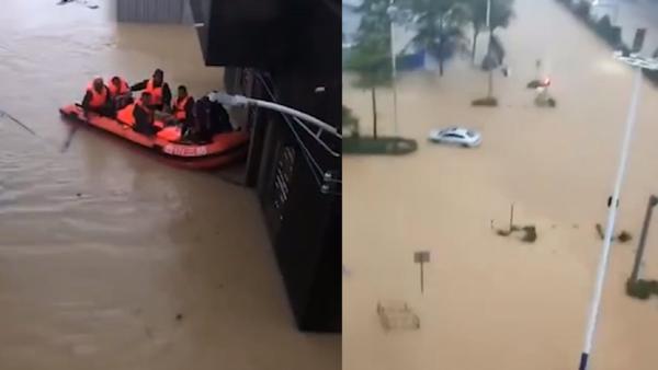 广东发布暴雨红色预警:多地停课、航班大面积延误、城区积水严重