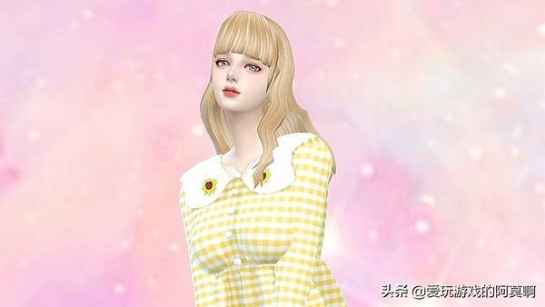 《模拟人生4》可爱妹妹捏脸视频教程