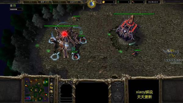 《魔兽争霸3》战术:恐惧魔王速矿流