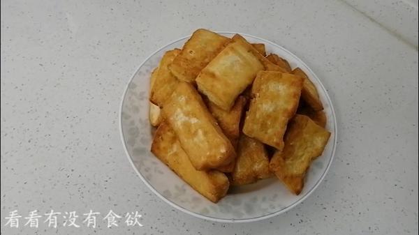 冻豆腐可以炸着吃吗,油炸冻豆腐怎么炸