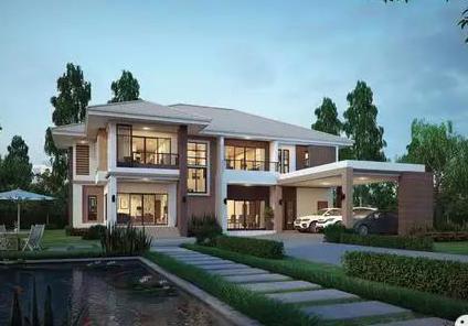 二层半小别墅设计图