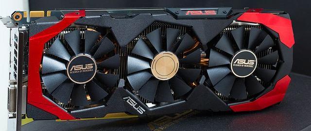 三风扇高颜值:ASUS 华硕 飓风版GTX960 显卡