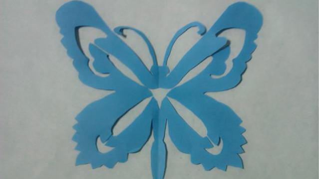 折纸王子教你折纸蝴蝶 凤尾蝶 儿童折纸   折纸王子博客