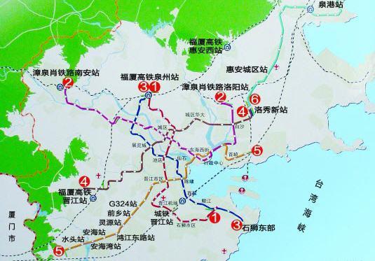 龙厦铁路30日开通 泉州直达南京仅11小时 - 米胖火车