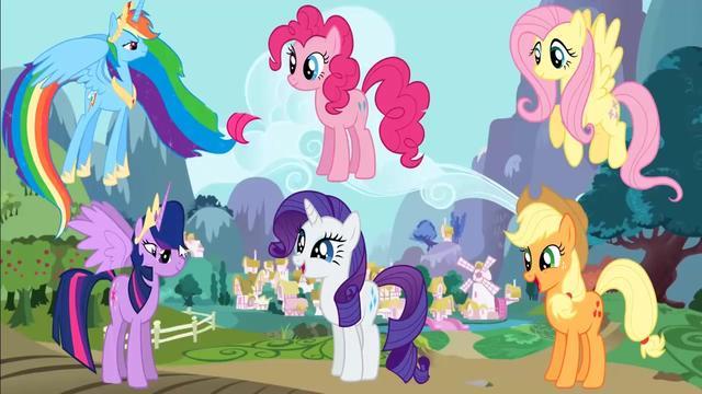 小马宝莉:公主用魔法更换自己的翅膀,真漂亮