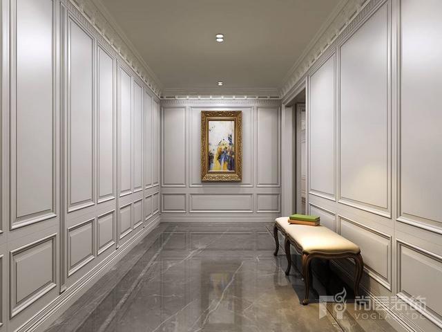 英伦轻奢风设计 上海尚层装饰860平米别墅装修案例