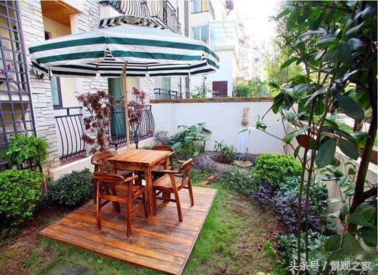 私家樓頂花園圖片