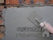 农民工大叔现场展示抹灰技术,这样抹灰才能抹的平平的