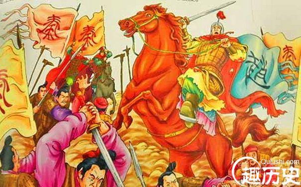 长平之战前地图