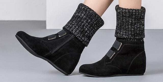 新款内增高休闲女鞋