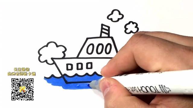 海军船卡通图片