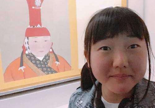 元朝皇后画像