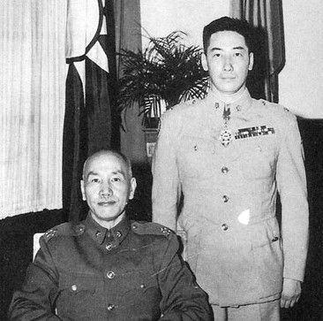 蒋纬国德军军服