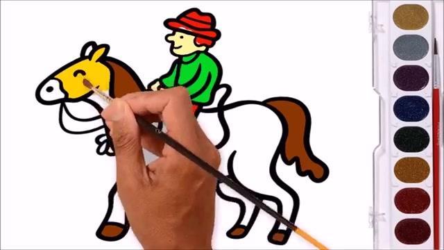 恶灵骑士骑马的人