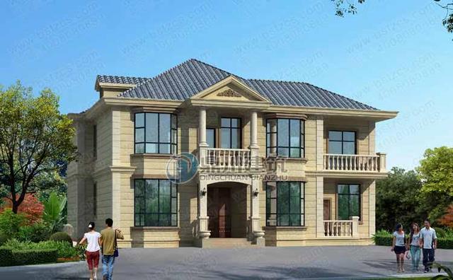 5款二层农村别墅豪宅,3款适合北方农村,选好户型就差中500万了