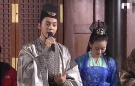 《醉玲珑》刘诗诗和陈伟霆拍吻戏,直呼:好恶心呀!