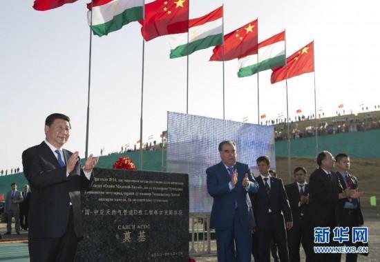 中国-中亚天然气管道D线_建设快讯