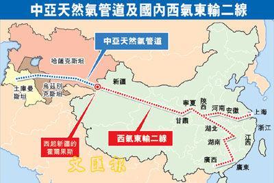 中亚管道d线停工