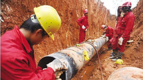 中国天然气管道