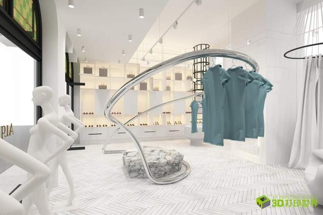 服装店衣架