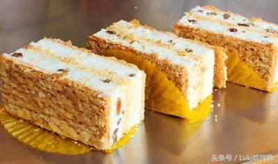 拿破侖蛋糕,美味的千層酥