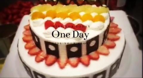 美食 生日蛋糕