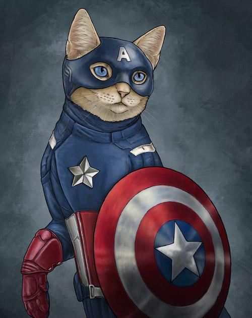 可愛小貓咪賣萌圖片