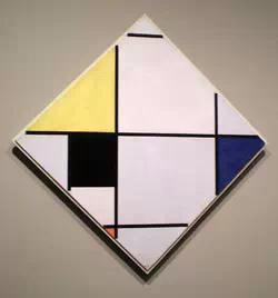 纠结的直线,坚定的生活:谈蒙德里安的非具象绘画