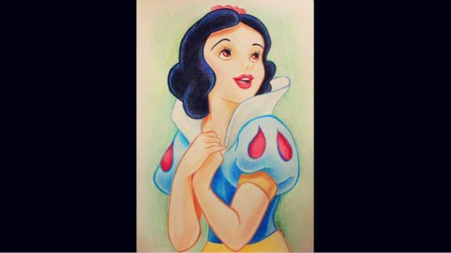 白雪公主怎么画 - 高光网