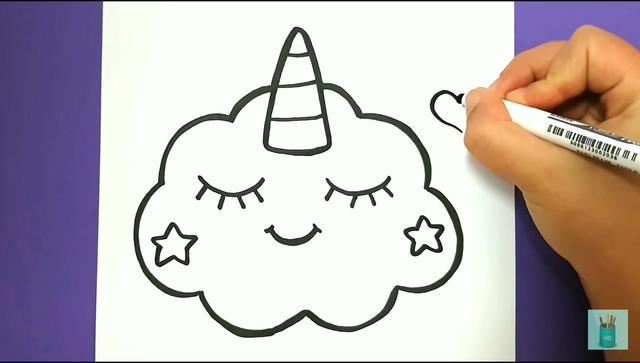 超级可爱的云朵图片,可爱云朵简笔画图片集 - 高光网