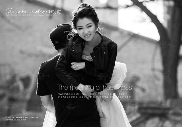 北京798婚纱照基地