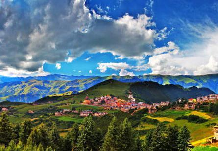 """这里有惊世的自然风光,成都""""后花园""""阿坝藏族羌族自治州"""